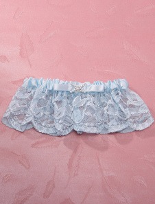 Giarrettiera sposa bella blu