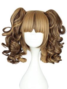 Мило фигурные мульти цвет района Лолита парик