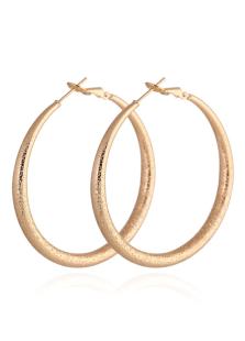 ファッション耳飾り フープ ゴールド カジュアル パーティー ラウンド カジュアル シック&モダン 女性用