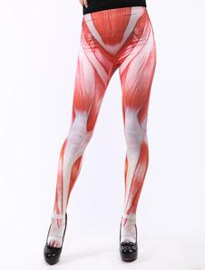 スキニー パンツ 進撃の巨人 筋肉 ハロウィン ライクラ・スパンデックス ユニセックス 大人用 ハロウィン