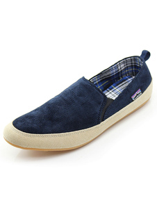 الأزرق العميق كودري جولة تو مان أحذية رياضية