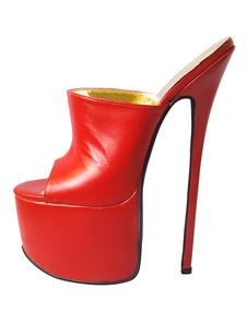 Платформа коровьей Сексуальные сандалии для женщин