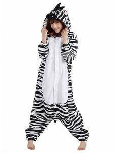 Disfraz Carnaval Cebra blanco negro Kigurumi Anime disfraz Halloween Carnaval