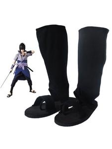 Carnaval Naruto Uchiha Sasuke Halloween Cosplay Zapatos 2020 Halloween