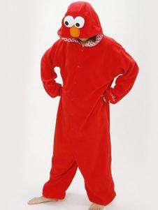 Disfraz Carnaval Rojo sésamo Kigurumi Anime disfraz Halloween Carnaval
