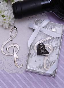 Abrelata en forma de nota de musica