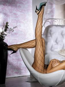 Meia-calça preta Sexy Fenca Net