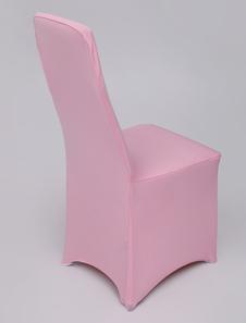 الوردي مطاطا غطاء كرسي الزفاف