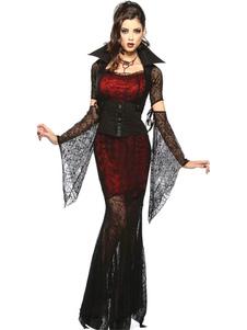 Costume Carnevale Costume di Carnevale vampiro gotico per donna