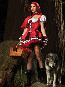 Halloween sensual Little Red Riding Hood traje Halloween