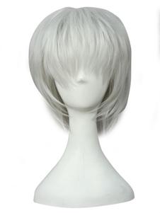Токийский Гуль Кен парик косплей Хэллоуин