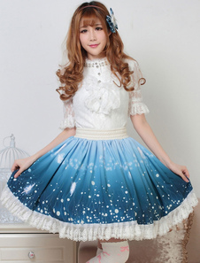 Dolce Lolita gonna guidata della notte Kawaii Lolita SK Lolita gonna