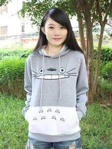 Hoodie أنمي Totoro الجار بلادي