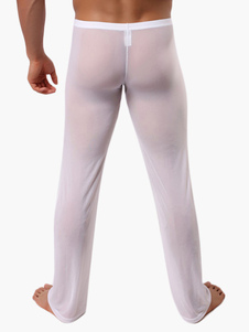 Nylon Sexy Man's Long Johns