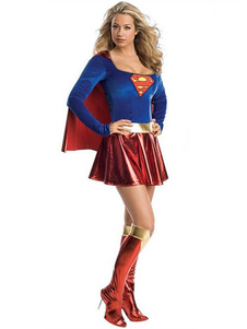 Supergirl 2020 Traje De Cosplay Do Dia Das Bruxas