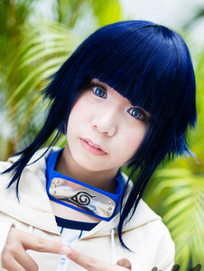 Carnaval Naruto Hyuuga Hinata 2020 Halloween Cosplay peluca 12 Years Old Version