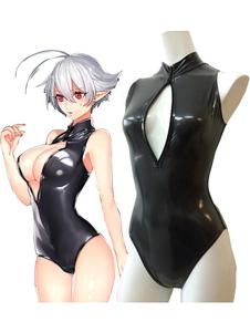 Anime Sexy Moe Girls Open Chest Swimsuit Cosplay Costume Хэллоуин
