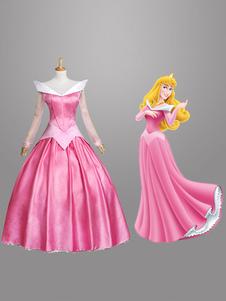 ハロウィン ピンク 童話 眠れる森の美女 コスチューム プリンセス 女性用 コスチュームコスプレ ハロウィン