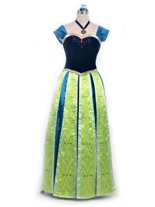Frozen Anna Crown Cosplay Costume  Хэллоуин