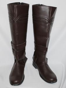Вдохновлено игрой Assassins Creed, косплей обувь Ezio Auditore