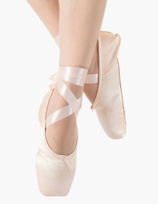Zapatos de baile para mujer Zapatos de punta de ballet Zapatos de baile de ballet satinado
