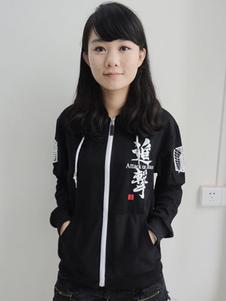 Carnevale Attacco su Titan manica lunga stampato Anime Sweatshirt Carnevale