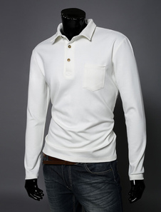 Camicia di Polo maniche lunghe