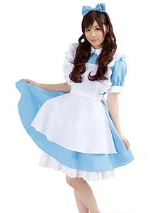 Costume Carnevale Costume cosplay di Alice Alice In Wonderland Alice Costume 2020