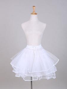 Saia de tule branco vestido completo casamento