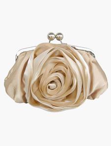 Saco de noite de clássico Rose flor na cadeia destacável de 6 cores