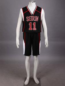 Черный Куроко не баскетбол Куроко Tetsuya сетки косплей костюм  Хэллоуин