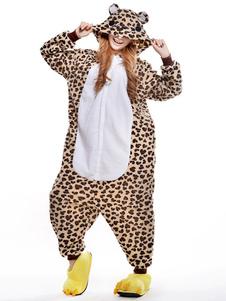 Disfraz Carnaval Traje de la mascota de leopardo imprimir oso sintéticas Halloween Carnaval