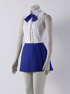 Costume Carnevale Fairy Tail Erza Scarlet tessuto uniforme Costume Cosplay