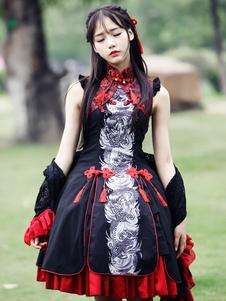 Rayon multicolor borlas Lolita uma peça