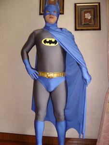 Многоцветная Бэтмен лайкра спандекс Зентаи для мужчин & женщин Хэллоуин