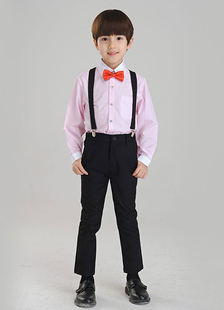 Terno terno gravata poliéster infantil do menino multicolor