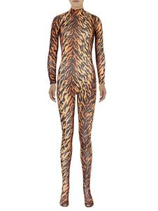 Disfraz Carnaval Zentai traje de lycra Sexy leopardo para mujer Halloween Carnaval