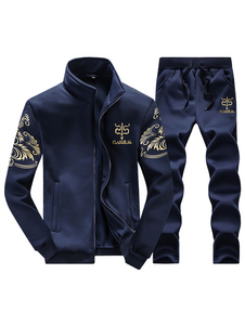 Print Cycling Jerseys Polyester Sports Suits for Men