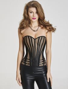 Ceñidor Top de Corsé para Mujer 2020 Sweetheart Cinturica de Encaje Lencería Erótica