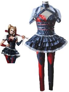 Carnevale Harley Quinn Batman Arkham Asylum Harley Quinn costume cosplay Carnevale