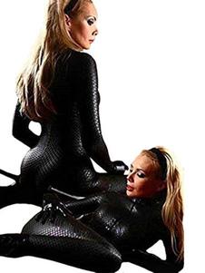 Black Club Pole Dancing Costume Костюм ПУ Формирующий Комбинезон для Женщин Костюм Бритни Спирс