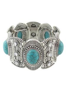 Богемной браслет тиснением металлический браслет для женщин