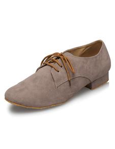 Серый танцевальная обувь кружева пу танцевальная обувь для мужчин