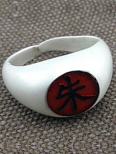 Carnevale Naruto Akatsuki Uchiha Itachi Cosplay anello Carnevale
