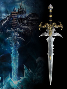 Carnevale Mondo di Warcraft Frostmourne Cosplay arma WOW Cosplay Accessori Carnevale