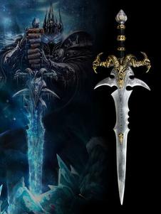 Carnaval Mundo de Warcraft espada Cosplay arma WOW Cosplay accesorios Halloween