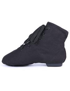 Профессиональный раунда Toe мягкой единственным текстильной джаз обувь