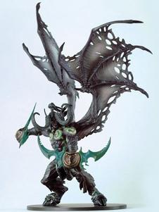 Carnevale Mondo di Warcraft Illidan Stormrage figura Carnevale