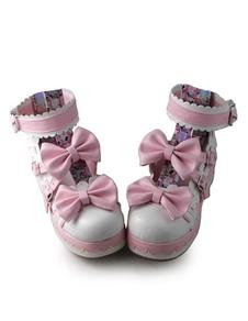 Zapatos de lolita rosa