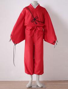 Простая версия InuYasha Хэллоуин косплей костюм Хэллоуин